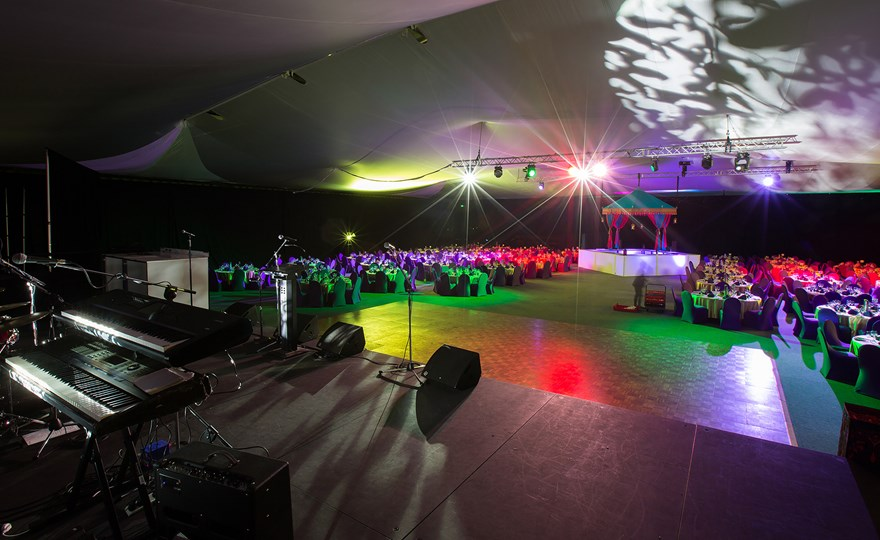 Function room – banquet in main arena at HBF Stadium Mount Claremont.jpg