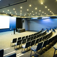 Lecture Theatre from audience view