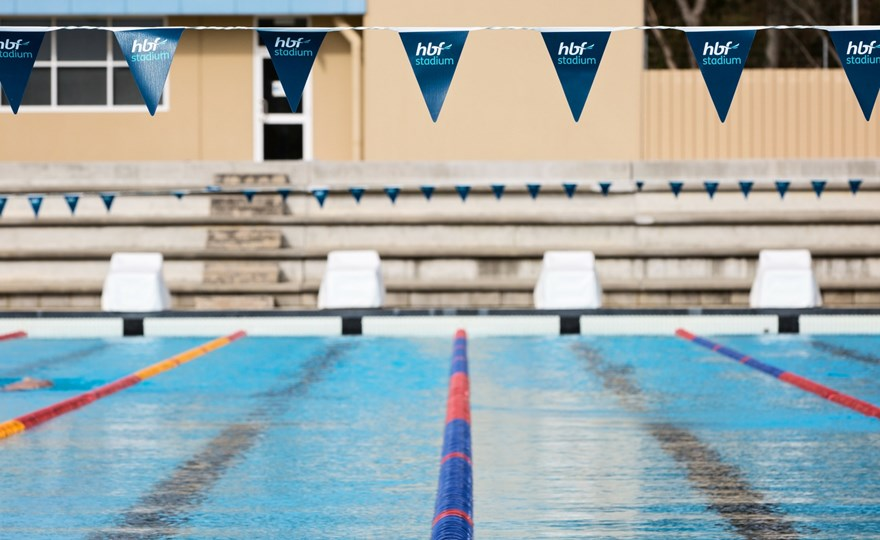 HBF Stadium outdoor 50m pool
