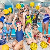 Kids sports club - water polo session 2