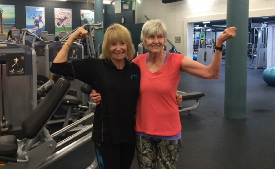 Member Barbara with her trainer Betty.jpg